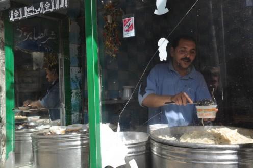 Kosheri-Lokale in Kairo © Ekkehart Schmidt
