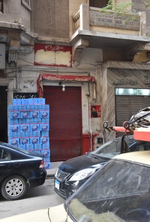 Coca Cola Laden in Kairo (c) Ekkehart Schmidt