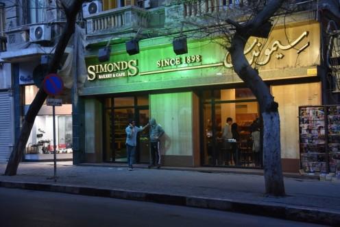 Cafè Simonds_Kairo© Ekkehart Schmidt