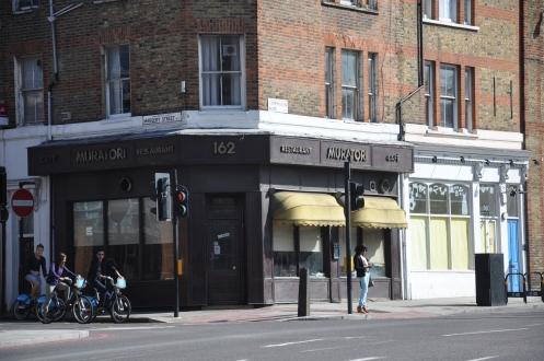 Caffs in London, The Muratori in Farringdon Rd., Copyright Ekkehart Schmidt-Fink
