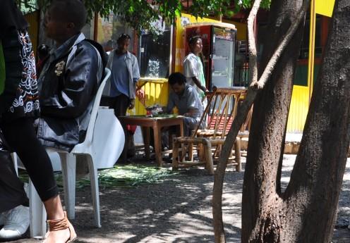 Hany's Café Arba Minch Copyright E. Schmidt-Fink