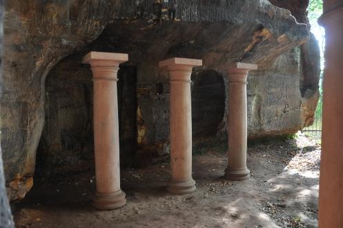 Mithras-Heiligtum Halberg © Ekkehart Schmidt-Fink