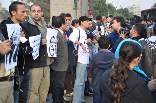 Mahnwache Mohammed al-Guindy 10.02.2013 @ Ekkehart Schmidt-Fink
