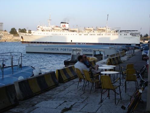 Brindisi: Fähre nach Vlora (c) Ekkehart Schmidt