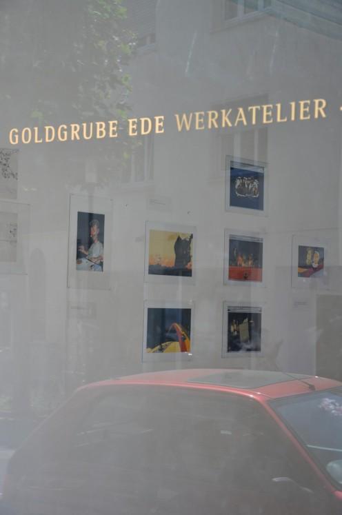 Stefan Grenner auf der 7. ANcht der Schönen Künste © Ekkehart Schmidt