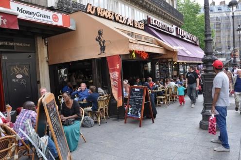 Café Le rendez vous des belges_Paris © Ekkehart Schmidt