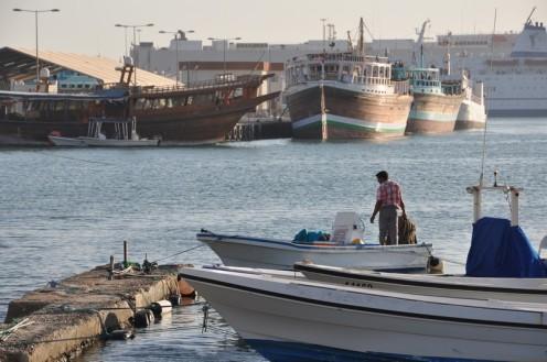 Der Fischmarkt an der Corniche in Doha © Ekkehart Schmidt 2013