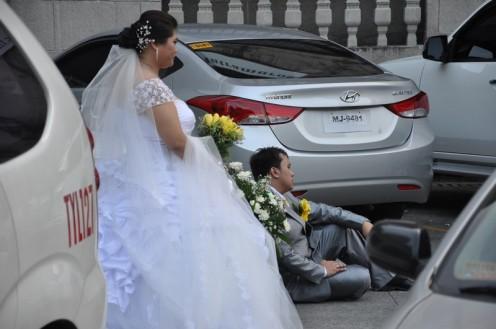 Hochzeit in Manila (c) Ekkehart Schmidt