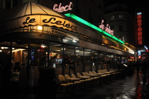 Café Le Select_Paris © Ekkehart Schmidt