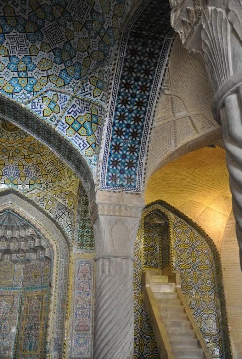 Die Farbe Türkis im Iran © Ekkehart Schmidt