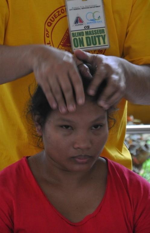 Die blinden Masseure von Quezon City © Ekkehart Schmidt