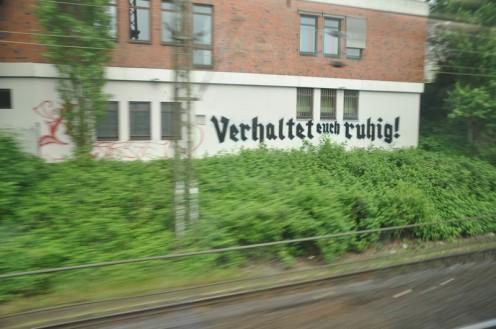 Archetypisches vom Bordell an der Zugstrecke © Ekkehart Schmidt