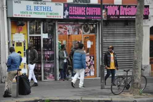 Wo sich Afropariser/innen stylen © Ekkehart Schmidt
