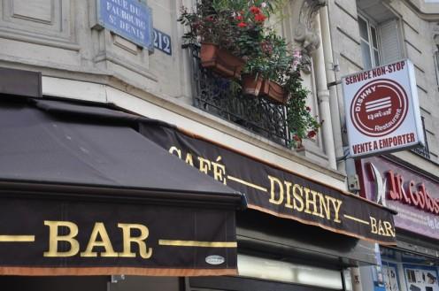 Café Bar Dishny_Paris © Ekkehart Schmidt