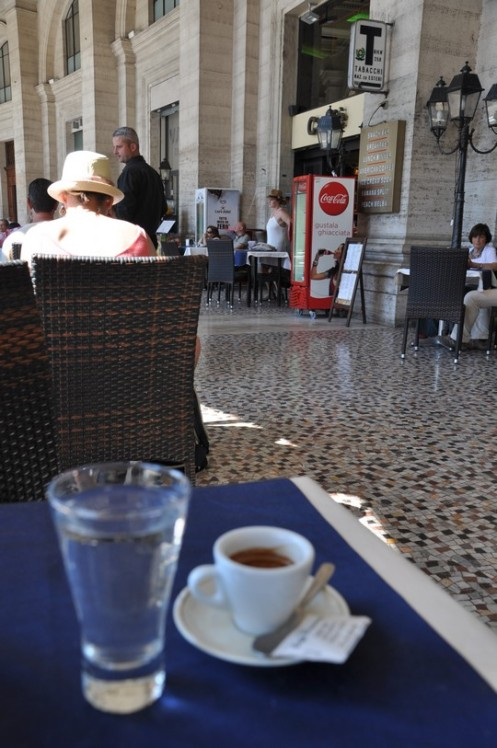 Caffè Piccarozzi_Rom © Ekkehart Schmidt