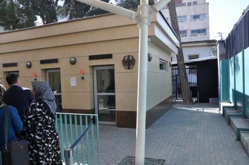 Deutsche Botschaft Teheran © Ekkehart Schmidt