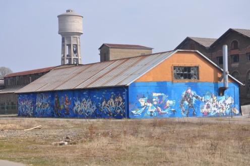 Graffiti op der Schmelz_Diddeleng © Ekkehart Schmidt