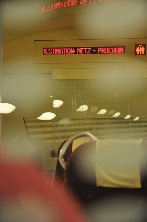 Im Spätzug nach Metz © Ekkehart Schmidt