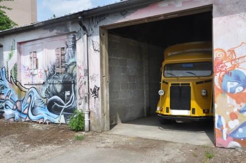 Doppelt bedrohtes Graffiti_Luxemburg © Ekkehart Schmidt