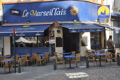 Bar la Marseillaise_Brüssel © Ekkehart Schmidt