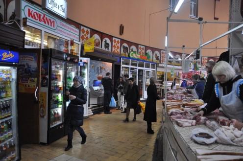Die Bessarabska-Markthalle_Kiew © Ekkehart Schmidt