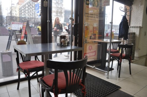 Linas Caffe_Kiew © Ekkehart Schmidt