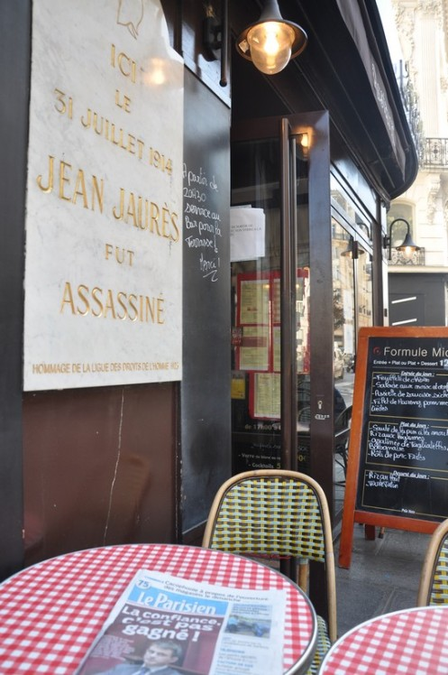 Brasserie du Croissant_Paris © Ekkehart Schmidt