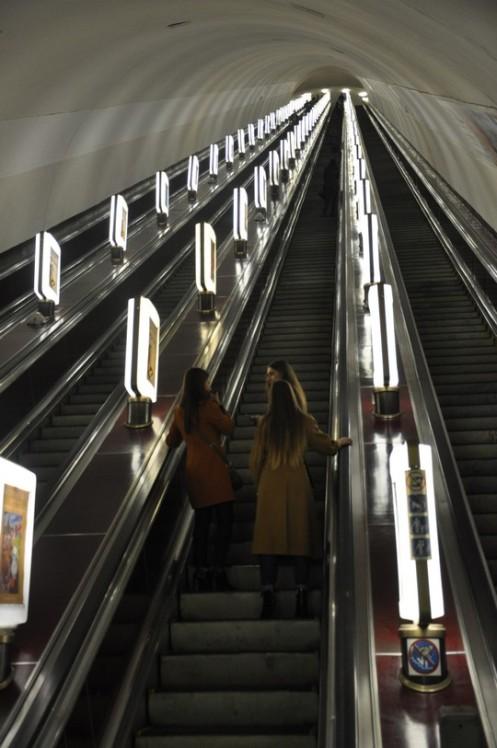 Metrostationen in Kiew © Ekkehart Schmidt