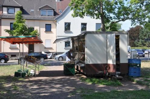 Obststand am Ilseplatz_Saarbrücken © Ekkehart Schmidt