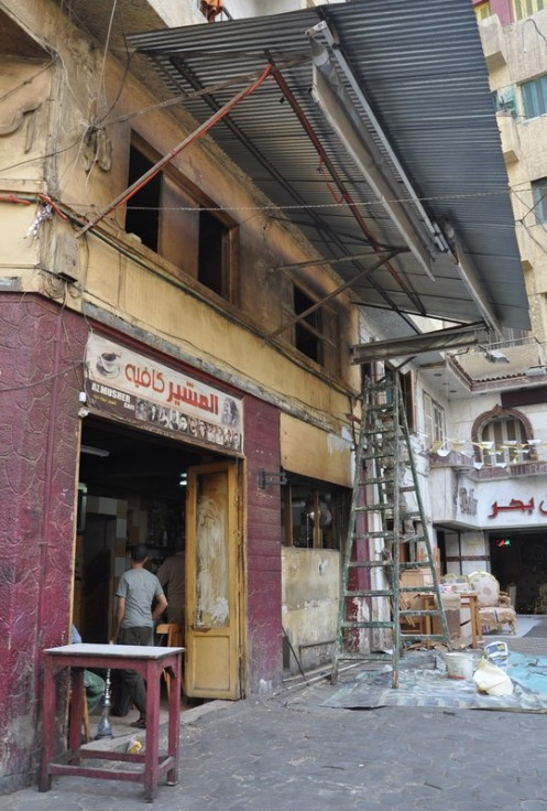 Al Musher Café_Kairo © Ekkehart Schmidt