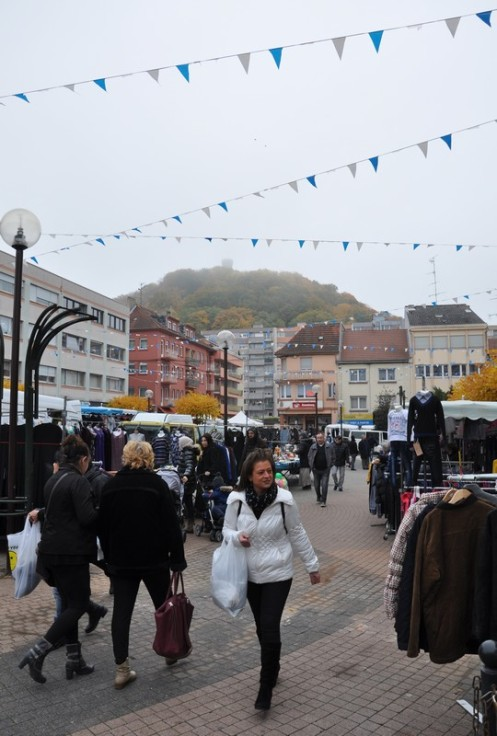 Le marché de Forbach © Ekkehart Schmidt