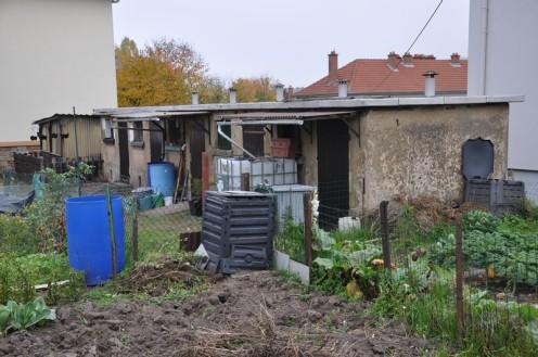 Blaue Garagen von Habsterdick (c) Ekkehart Schmidt