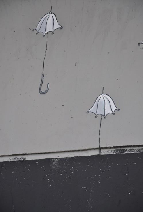 """""""Immergrün"""" übersprüht: Ein Frevel? © Ekkehart Schmidt"""