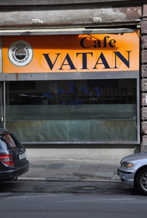 Vatan Café_Frankfurt/Main © Ekkehart Schmidt
