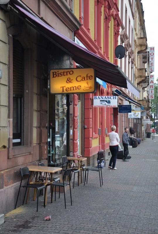 Bistro & Café Teme_Frankfurt/ Main © Ekkehart Schmidt