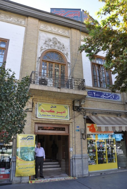 Restaurant Café Amir Kabir_Teheran © Ekkehart Schmidt