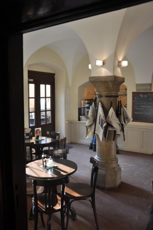 Café im Liebieghaus_Frankfurt/Main © Ekkehart Schmidt