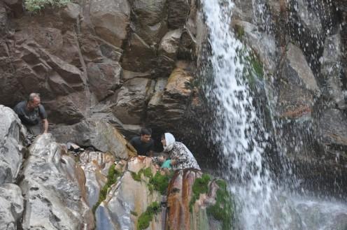 Tausendblum - Ein Wasserfall, ein Bach bei Rayen © Ekkehart Schmidt