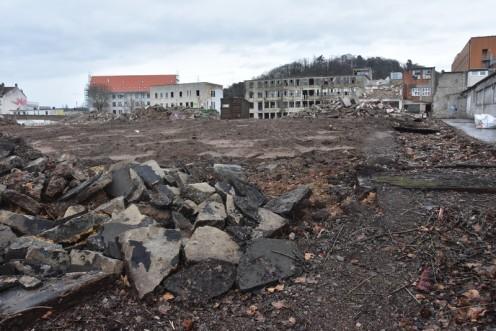 Abriss der Becolin-Fabrik_Saarbrücken © Ekkehart Schmidt