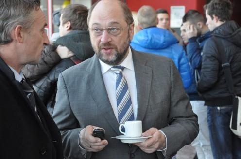 Martin Schulz in Luxemburg © Ekkehart Schmidt