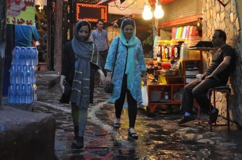 """Darband und der """"dicke Stein""""_Teheran © Ekkehart Schmidt"""
