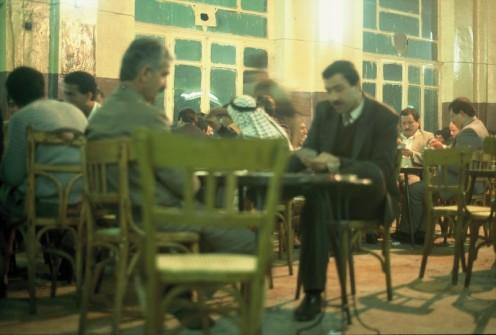 Syrische Teehäuser 1986/88 © Ekkehart Schmidt