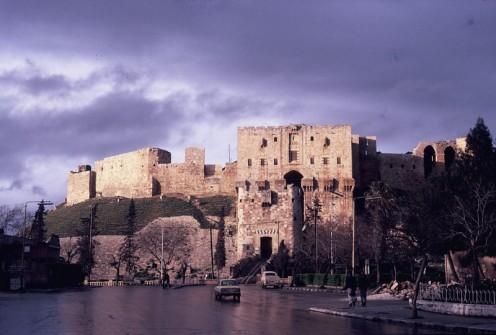 Zitadelle in Aleppo 1988 © Ekkehart Schmidt