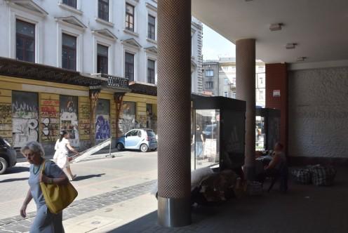 Die abgerissenen Köpfe der Ulica Chmielna © Ekkehart Schmidt