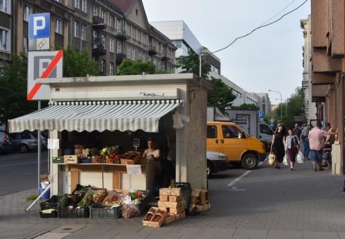 Erdbeerzeit in Warschau © Ekkehart Schmidt