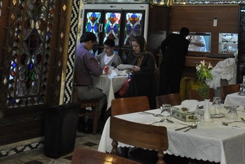 Restaurant Shahrzad_Isfahan © Ekkehart Schmidt
