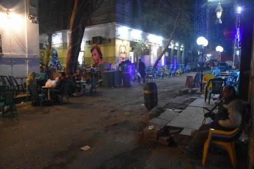 Café Zahrat al-Bustan_Kairo © Ekkehart Schmidt