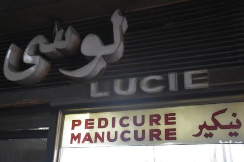 Lucie Pedicure Manicure_Kairo © Ekkehart Schmidt