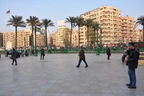 Pierre Sioufi am Tahrir_Kairo © Ekkehart Schmidt