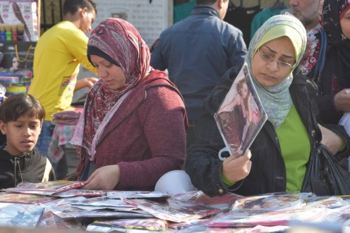 Der Textilienmarkt am Ataba_Kairo © Ekkehart Schmidt